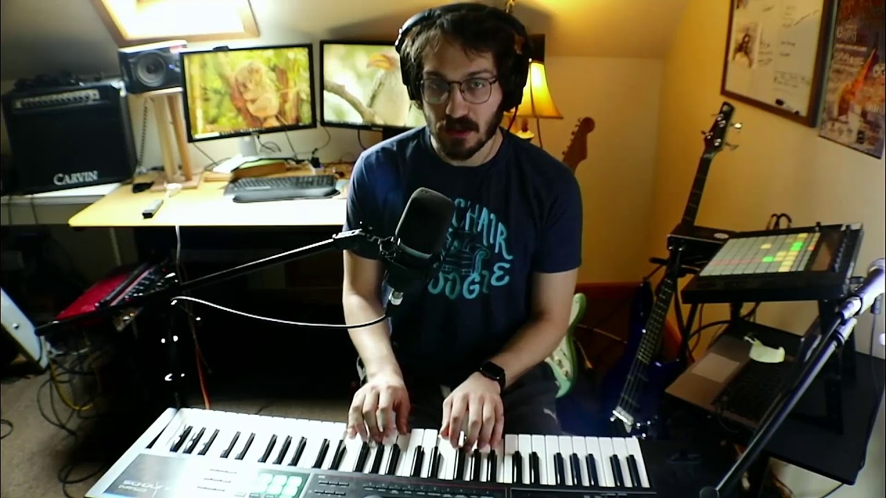 """Piano Man"" cover"