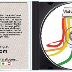 Pack -A- Clones (Sweet) [Jewel Case CD]